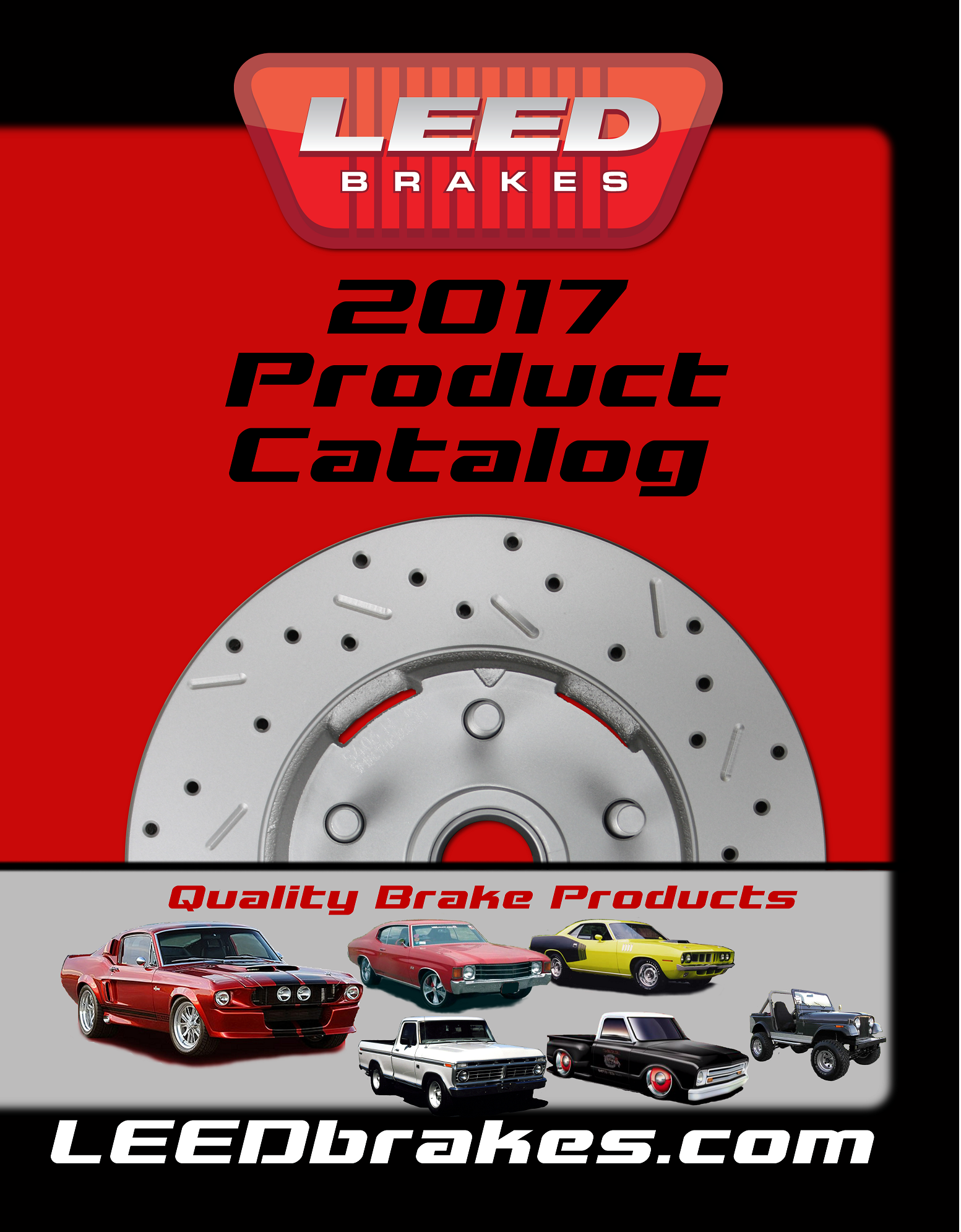 LEED Brakes 2017 Catalog Cover