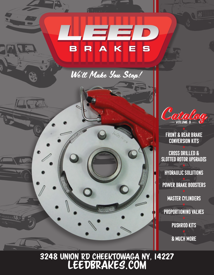 LEED Brakes Volume 3 Catalog Cover
