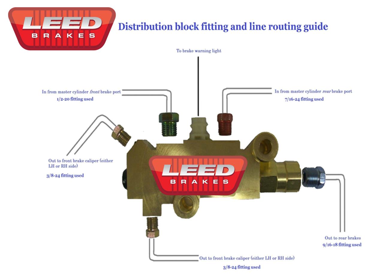 Block Line Diagram : Leed brakes faq
