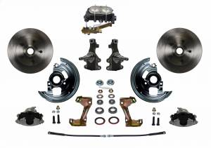 "Manual Front Kit - 2"" Drop Spindles - _Standard Kit"