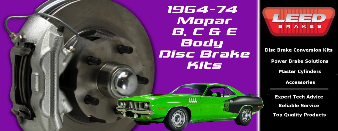 Mopar Disc Brake Conversions