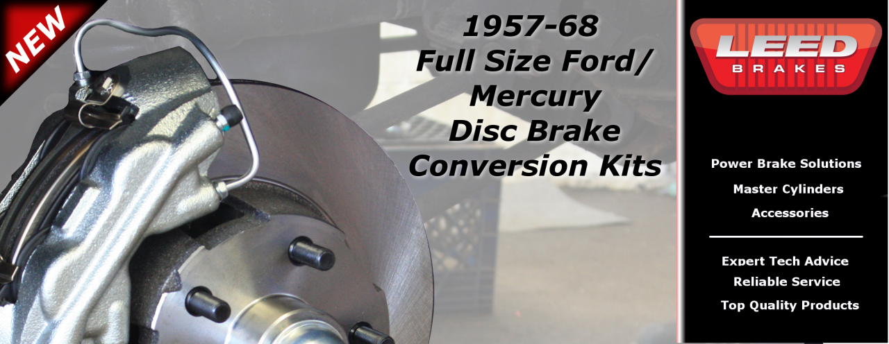 Ford Galaxie Disc Brake Conversion Kits