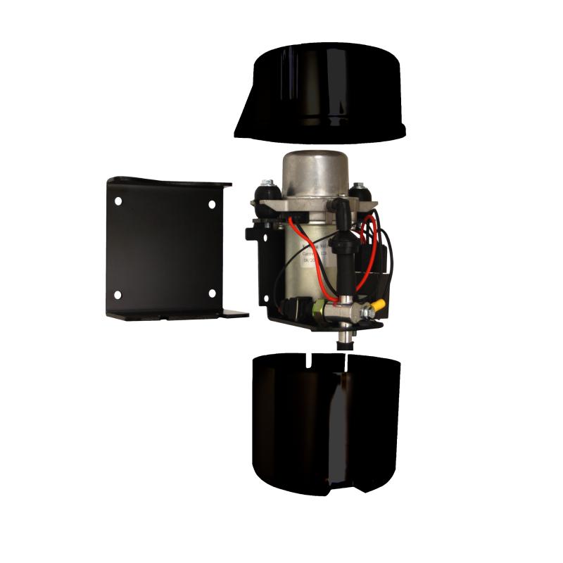 Black Bandit Electric Vacuum Pump Kit | Brake Vacuum Booster