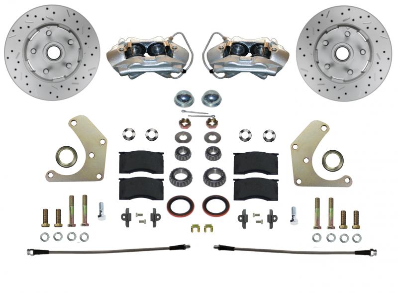 Mopar A Body Disc Brake Conversion Kit, Original 4 Piston