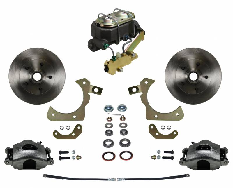 1955-58 Standard Kit - Manual Brakes with Disc/Drum Valve