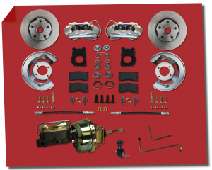 Front Disc Brake Conversion Kits - Power Front Kits