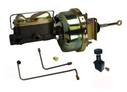 LEED Brakes - Hydraulic Kit - Power Brakes 64.5-66 Mustang Auto Trans