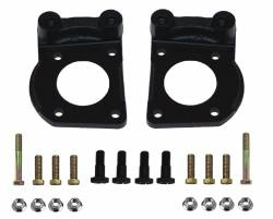 LEED Brakes - Caliper Mounting Bracket Set K/H with hardware Mustang 4 Piston