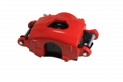 LEED Brakes - Caliper Single Piston GM left side Red Powder Coated