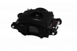LEED Brakes - Caliper Single Piston GM left side Black Powder Coated