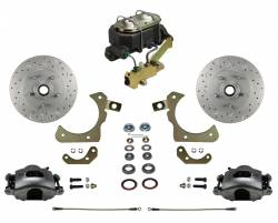LEED Brakes - Manual Front Disc Brake Conversion Kit with Disc Drum Valve | MaxGrip XDS