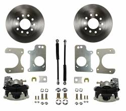 LEED Brakes - Rear Disc Brake Conversion Kit - GM 10 Bolt Axles with 3 Bolt Flange
