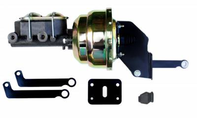 LEED Brakes - 8 inch Dual Power booster , 1-1/8 inch Bore master