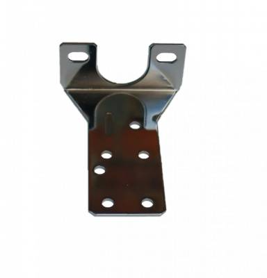 LEED Brakes - Proportioning Valve mounting Bracket - Bottom (Chrome)