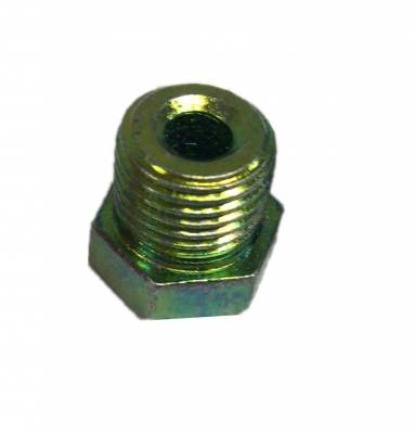 LEED Brakes - inverted flare line fitting - 1/2-20 for 3/16 inch line