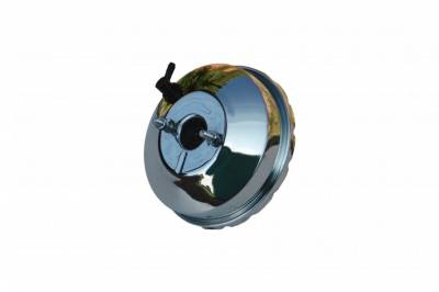 LEED Brakes - 9 inch Booster (Chrome)