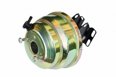 LEED Brakes - 8 inch Dual power booster with bracket (Zinc)