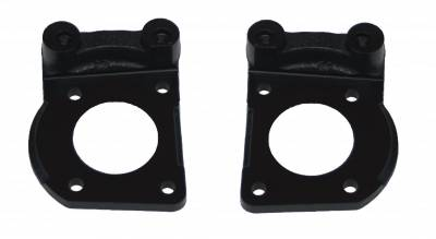 LEED Brakes - Caliper Mounting Bracket Set K/H 64-69 Mustang 4 Piston