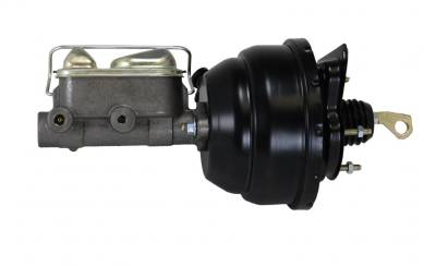 "67-70 Mustang Manual Transmission 8"" Dual Diaphragm Power Booster Side"