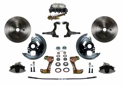 GM AFX Front Manual Disc Brake Conversion - 4 Wheel Disc Valve