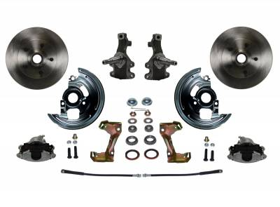 """Spindle Mount Kit With 2"""" Drop Spindle - Assembled"""