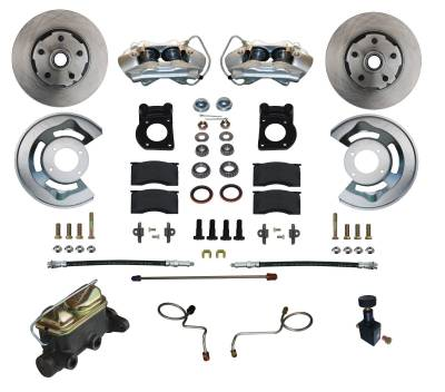 1967-69 Ford Mustang Manual Disc Brake Conversion Kit
