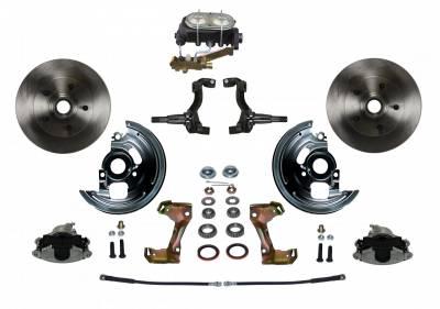 GM AFX Front Manual Disc Brake Conversion Disc/Drum