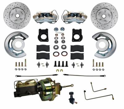 65-66 Mustang Power Disc Brake Conversion
