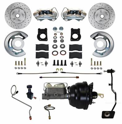 67-69 Mustang Power Front Disc Brake Conversion Kit