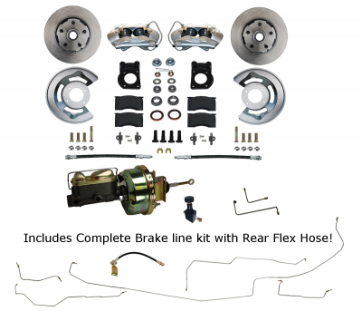 Disc Brake kit with Brake line Kit