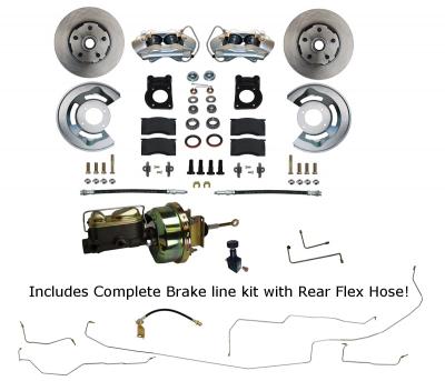 Disc Brake kit with Brake line Kit