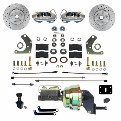 GPS Automotive Mopar C Body Power Disc Conversion with MaxGrip XDS Rotors