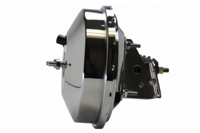 LEED Brakes - 9 inch power booster (Chrome)