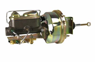 LEED Brakes - 7 inch Power Brake Booster , 1 inch Bore master , bottom mount valve disc/drum (zinc)