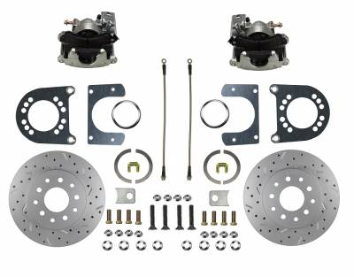 """Ford 9"""" Large Bearing """" New Style"""" rear disc brake conversion"""