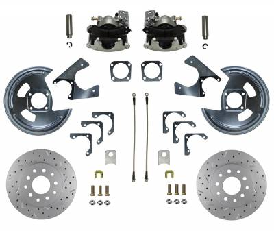 GM 10 & 10 Bolt Rear Disc Brake Conversion - with MaxGrip XDS Rotors