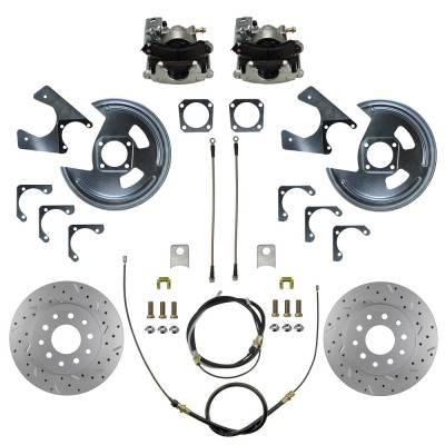 GM 10 & 12 Bolt rear disc brake kit 70-81 Camaro & Firebird
