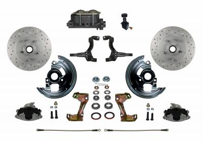GM AFX Front Disc Brake kit with MaxGrip XDS rotors