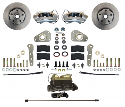 Ford Galaxie Front Disc Brake Conversion