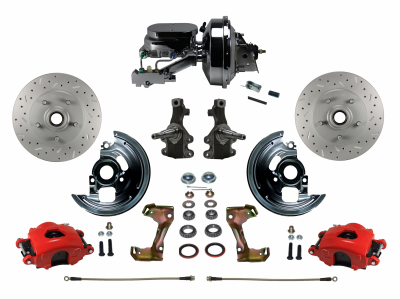 Leed Brakes Red Powder Coated Skylark GS Kit