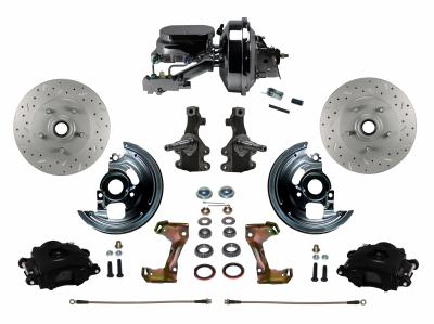 Leed Brakes Black Powder Coated Skylark GS Brake Kit