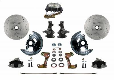 "FC1007-3A1X 2"" Drop Manual Disc Brake Kit"