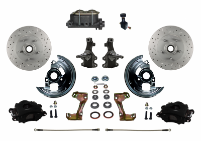 BFC1007-305X Black Powder Coated Disc Brake Kit