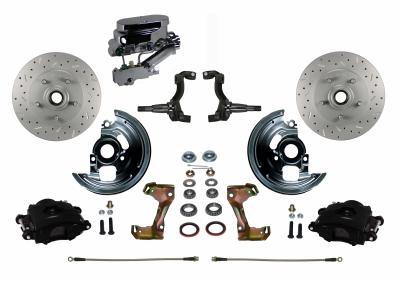 GM Manual Disc Brake kit - LEED Brakes
