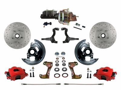 Cutlass Front Disc Brake kit - LEED Brakes