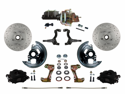 Cutlass Front Disc Brake Kit