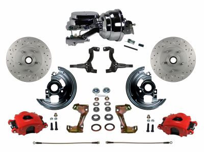 Chevelle Front Disc Brake kit - LEED Brakes