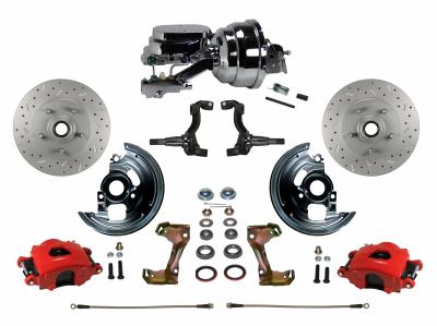 Chevelle Front Disc Brake kit - LEED Brakes