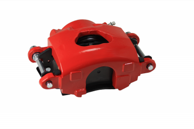GM Single Piston Caliper Red Powder Coated RH LEED Brakes