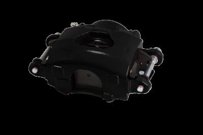 GM Single Piston Caliper Black Powder Coated LH LEED Brakes